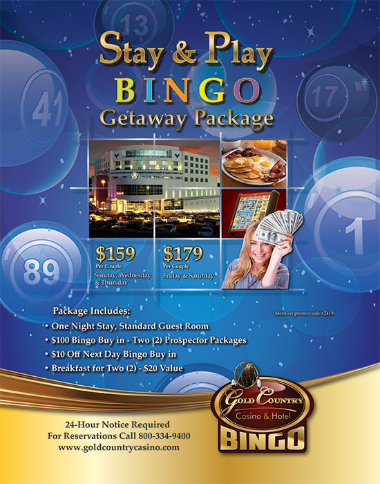 Gold Country Casino Bingo